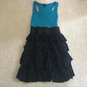 Tank Top Ruffle Dress
